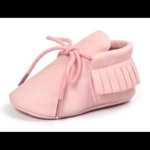 🆕 Baby Suede Moccasins Shoes